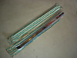 65 66 67 68 69 70 Impala Ss Bel Air Biscayne Caprice Nos Sill Plates With Ribs