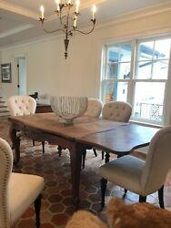 Antique French Trestle Table