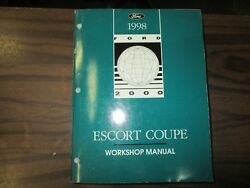 1998 FORD ESCORT COUPE FACTORY FACTORY REPAIR SERVICE MANUAL