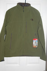 the north face mens apex bionic soft shell 4 season jacket scallion green sizes