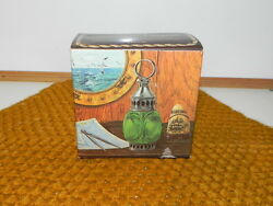 Vintage Avon. New In Original Box Whale Oil Lantern Tai Winds After Shave 5 Oz