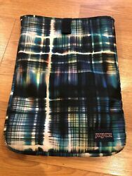 Preowned Jansport digital student laptop sleeve Only - Multi Color