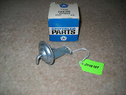 Nos Mopar 1964 Plymouth Dodge Choke Pull Off Diaphragm With 273 318 2bbl