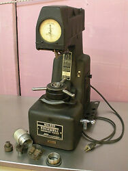 Rare Wilson Rockwell 1yr A Hardness Tester Materials Testing Lab W/accessories