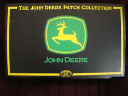John Deere Patch Collection By Willabee And Ward In Binder Book 23 Patch Rare @h