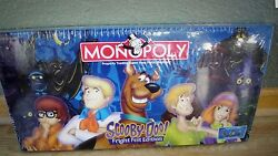 2000 Monopoly Scooby-doo Fright Fest Edition New Factory Sealed