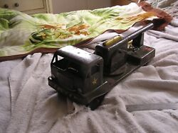 Vintage Nylint Military Toy Truck Cannon