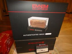 Eminem Signed Authentic Brick Dog Tag MMLP Cassette Size M T-Shirt RARE!!!
