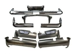 Bumper And Valance Set For 1960 Chevrolet With Parking Lights Front And Rear