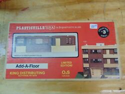 Plasticville, Add A Floor, 0550, Brown O And S Gauge, New, Bag Sealed 725