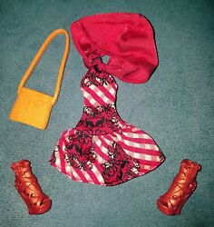 Ever After High Cerise Hood Doll Outfit/ Clothes Set/lot Enchanted Picnic