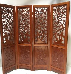 Oriental Rosewood Screen 6and039x4 Room Dividers Furniture