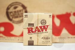Full Box 15 Packs Authentic Raw Artesano Rolling Paper King Size