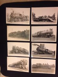 Huge Collection 41 Steam Engine Locomotove Rppc 1930's-1940's Photo Post Cards