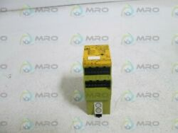Pilz Safety Relay Pswzx1p3v/24-240vacdc2n/o1n/c2so Used