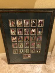 Tiger Woods Framed Making Of A Golf Champion Premiere Edition Cards Unique