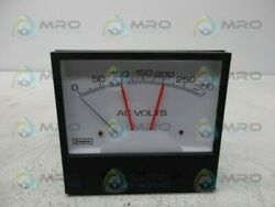 Crompton 239-304a-rxrx-ac Switchboard Voltmeter Relay New No Box