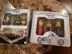 Dc Comics Justice League Pez And Orange County Choppers Pez Dispensary Brand New