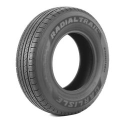 4 New Carlisle Radial Trail HD ST23580R16 Load E 10 Ply Trailer Tires