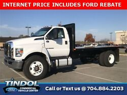 2019 Ford Other Pickups -- 2019 Ford F-750SD  205 Miles Oxford White 2D Standard Cab