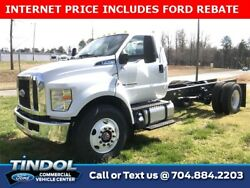 2019 Ford Other Pickups -- 2019 Ford F-750SD  0 Oxford White 2D Standard Cab