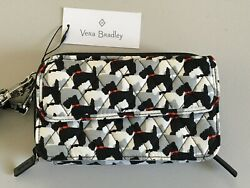 Vera Bradley All In One Crossbody For iPhone 6 NWT Scottie Dogs $31.50