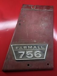 Ih Farmall 756 Right Hand Side Panel With Emblem