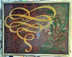 Mick Gronek - Mixed Media On Metal 48x60 2002 - Switchback