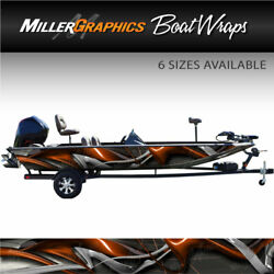 Typhoon Copper Boat Wrap Kit 3m Cast Vinyl Graphic Decal - 6 Sizes Available