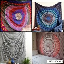 Large Tapestry Indian Mandala Wall Tapestry Hippie Dorm Decor Wall Hanging USA