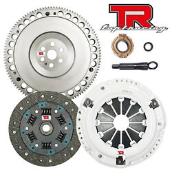 Tr1 Stage 1 Hd Clutch Kit And Racing Flywheel For Civic Del Sol 1.5 1.6l 1.7l Sohc