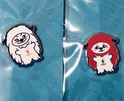 Rugby World Cup 2019 Limited Official Goods Mascot Pin Badge 2 Set Rare Japan