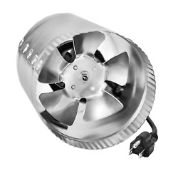 iPower GLFANXBOOSTER4 4 Inch 100 CFM Booster Inline Duct Vent Blower Exhaust and