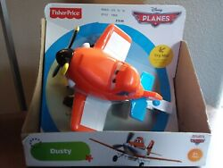 2012 Disney Planes Talking Dusty, Fisher-price, New And Unopened