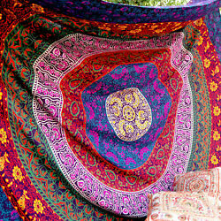 Large Tapestry Indian Mandala Wall Haning Bohemian Throw Queen Bedspread Décor