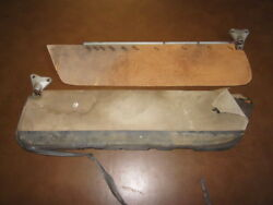 1955-1956 Ford Station Wagon Sun Visors, Sedan Delivery Courier, Mercury Wagons