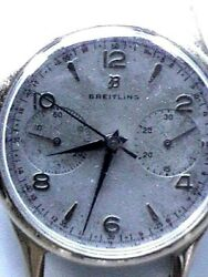 Vintage C50's. Breitling Hand Wind Good Condition Chronograph