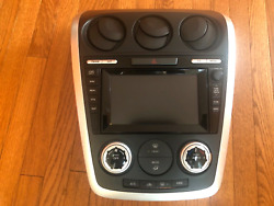 2008 Mazda CX7 Navigation 6 CD Player Radio with climate control OEM