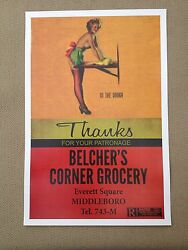 Vintage Retro Pinup Girl Movie Poster Man Cave Wall Art Gasser Rockabilly New
