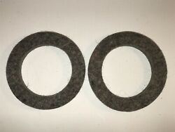 1922-26 Durant 4 Cyl Front Wheel Felt Oil Seals Grease Retainers H1334 Qty 2