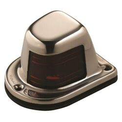 Attwood Marine 66319r7 1-mile Deck Mount Red Sidelight 12v Stainless Steel