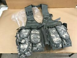 Molle Ii Fighting Load Carrier Flc Ucp Digital Pattern Camo, Rifleman Config S