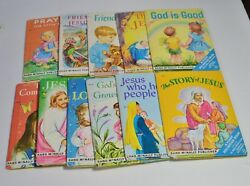 Vintage A First Religious Book By Mary Alice Jones Rand Mcnally Publisher Books