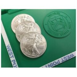 2500 American Silver Eagles 2019 IN STOCK! FIVE (5) Sealed Monster Boxes