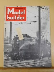 Model Builder 1947 February Lionel Magazine Build A Trolley Furniture Factory