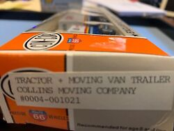 Con-cor/herpa Tractor And Moving Van Trailer Collins - Moving Company