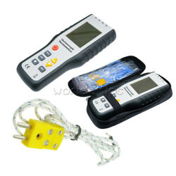Digital K-Type 4-Channel Thermometer Thermocouple Probe  LCD -200~1372°C Sensor