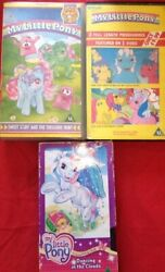 Tempo Video Vhs Videos X3 My Little Pony - Sweet Stuff Dancing In The Clouds