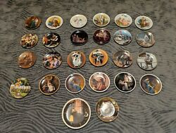 Lot Of 22 Norman Rockwell Collector Plates, Knowles