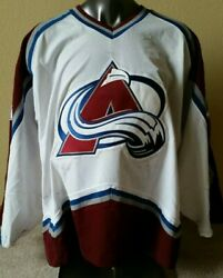 Certified Game-worn And Autographed Colorado Avalanche Rookie Sweater Nedorost